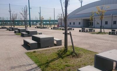 休憩広場バーベキュー
